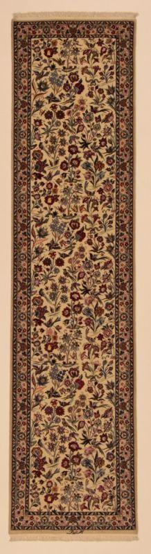 Perserteppich Isfahan a.Seide hell (75x315cm)