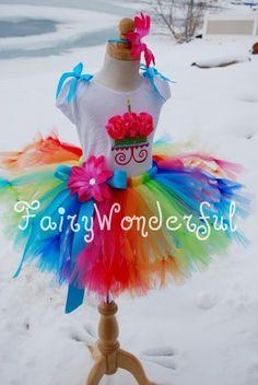 Clowning Around Birthday Petti Tutu by FairyWonderful on Etsy, $28.95