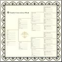 Bazzill Heritage Printed Paper - Family Generations Chart