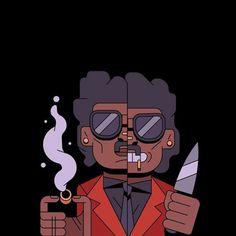 The Weeknd Drawing, Art Music, Music Artists, Disney Tapete, The Weeknd Poster, Heavy Metal Guitar, Abel The Weeknd, Glitch Wallpaper, Joker Wallpapers