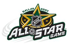 NHL All-Star Game Primary Logo on Chris Creamer's Sports Logos Page - SportsLogos. A virtual museum of sports logos, uniforms and historical items. Nhl Logos, Hockey Logos, Hockey Teams, Sports Logos, Nhl All Star Game, American Airlines Center, Stars Hockey, Nhl Games, Buffalo Sabres