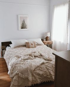 Our bedroom is just about complete, and I'm already loving our new apartment so much. Everything just feels so much brighter + happier over here. #PLFhome