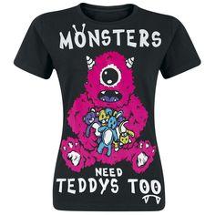 Monsterteddy by Cupcake Cult
