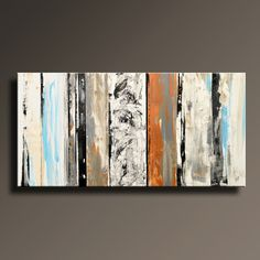48 Large Original ABSTRACT Painting on Canvas by itarts on Etsy