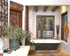 Bathroom Spanish Style Design, Pictures, Remodel, Decor And Ideas   Page 12
