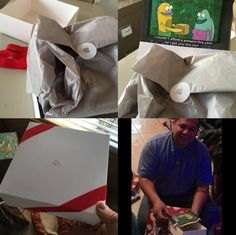 15 People Who Received Prank Gifts This Christmas. Some Of These Are Ingenious. Prank Gifts, Fly On The Wall, Pranks, Presents, Gift Wrapping, Box, Gifts, Paper Wrapping