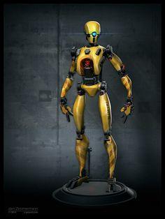 http://nero-tbs.deviantart.com/art/Robot-Concept-497221783