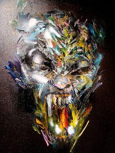 art by David Choe, 2012.