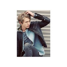 austin butler's troix magazine shoot ❤ liked on Polyvore featuring austin butler