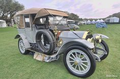 1912 Crane Model 3 at Amelia Island 2012 by gswetsky, via Flickr. Crane Motor Company of Bayonne, New Jersey made cars from 1912-1915 and was a successor to Crane & Whitman Automobile Works which went out of business in 1908. Crane merged w/ Simplex Motor Co. in 1915. This car is a rare example as few exist. It has a 6 cyl. 48 h.p. engine. The expensive chassis was built to be covered w/ custom coachwork, usually Brewster. The total cost of this car was 15,000 in 1912!