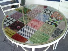 Novidade na loja: Mesa Mosaicos Portella, pavão revestimentos. #revestimentos #acabamento #mosaico #MosaicosPortella