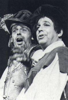 """Brel como D. Quixote em """"O Homem de la Mancha"""""""