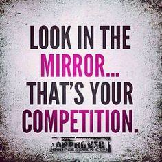 Don't compare yourself to anyone else. What's the healthiest version of YOU that's waiting to be uncovered?