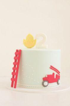 hello naomi's fire engine cake