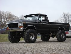 Jacked Up Ford Trucks | posted one in here before but it wasnt a good one. I realized i ...black baby