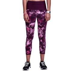 Pantaloni Abbigliamento fitness,Danza - Leggings donna SHAPE+ bordeaux DOMYOS - Abbigliamento Palestra