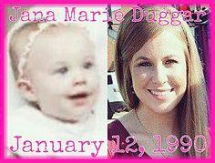 Jana Marie Duggar  January 12, 1990 Familia Duggar, Jana Marie Duggar, Duggar Girls, Dugger Family, 19 Kids And Counting, Bates Family, Watch Tv Shows, January 12, Extended Family