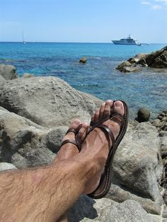 sandals photographed in the beautiful Sardinia (Italy) - www. Hairy Men, Pleasures For Men, Male Foot Worship, Flipflops, Barefoot Men, Mens Flip Flops, Male Feet, Fashion Sandals, Hot Men