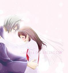 Please, be my wife... Nanami by Zakuuya.deviantart.com on @DeviantArt  Nanami x Tomoe from Kamisama Hajimemashita / Kamisama Kiss - manga / anime