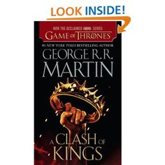 A Clash of Kings: A Song of Ice and Fire: Book Two. Well, I did finish it but I was not nearly as enthralled as I was with the first book. Not sure why; too slow, too repetitive, not interested in the dragon's story, becoming too mystical-I don't know.  Not sure if I will read the next one. 770 pages