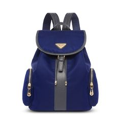 57e60899ddf2 dark blue bucket backpack leisure bag