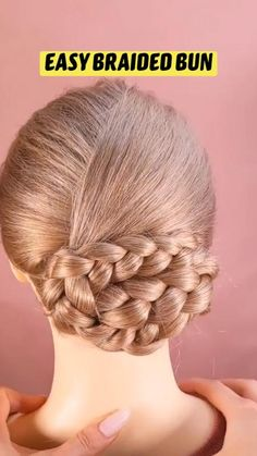 Quince Hairstyles, Bun Hairstyles For Long Hair, Little Girl Hairstyles, Braided Hairstyles, Wedding Hair And Makeup, Hair Makeup, School Girl Dress, Wedding Hairstyles Tutorial, Braids