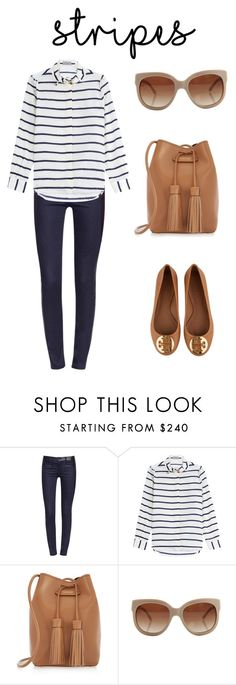 """Stripes"" by definingmyworld on Polyvore featuring Tory Burch, Preen, Tom Ford, STELLA McCARTNEY and stripes"
