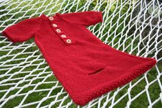 Baby Bunting knitting pattern. PDF Download by AmandaLilleyDesigns
