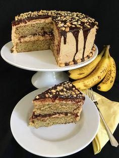 Peanut butter + banana + chocolate