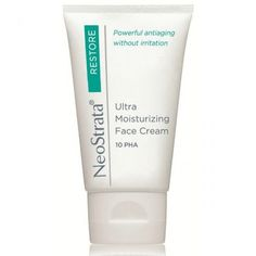 NeoStrata Ultra Moisturising Face Cream.  It helps calm & strengthen the protective barrier of dry, stressed and sensitive skin. As part of a daily PHA regimen, this formula has been shown to reduce skin vulnerability and redness over time, and to significantly improve texture, firmness, lines, and overall skin clarity.  This emollient cream is suitable for all skin types, including sensitive skin and first-time AHA users.