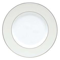 Lenox Opal Innocence Stripe 9 in. Accent Plate - 806489
