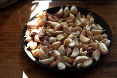 ovnsbaktstorfe5 Stuffed Mushrooms, Beans, Vegetables, Mad, Stuff Mushrooms, Vegetable Recipes, Beans Recipes, Veggies