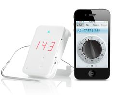 iGrill Bluetooth BBQ Thermometer Connects Wirelessly to your iPhone