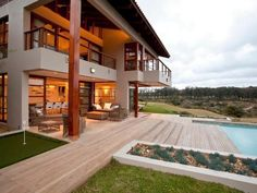 Teak Close 4, Zimbali Coastal Resort - As the name suggests, Teak Close 4, Zimbali Coastal Resort is set within one of the most beautiful and exclusive estates along the Dolphin Coast.  This house is a true architectural gem and offers a luxurious ... #weekendgetaways #ballito #southafrica