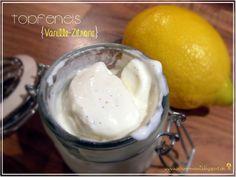 Frühlingsgefühle: Vanille-Zitrone-Topfeneis