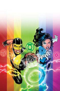 Green Lanterns and the Phantom Ring - Ed Benes