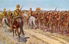 German troops - Boxer Rebellion