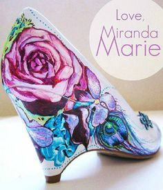 a1ac8998e777b4 hand painted shoes by Miranda Marie Sharpie Shoes