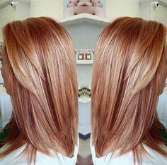 Truskawkowy blond: owocowy powiew lata we fryzjerstwie