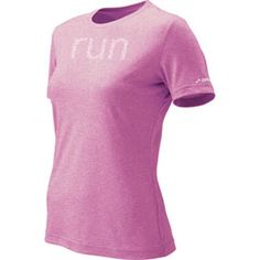 My favorite running shirt in pink. Brooks, $18 (on clearance!)