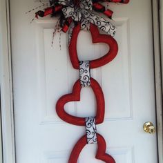 Valentines day door