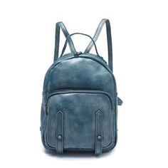 1a4769d113 Women Backpack Handmade Full Grain Leather Backpack Girl Backpack T86209
