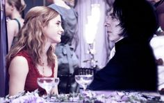 Pictured: Hermione and Severus at the wedding reception of Harry and Ginny Potter // Artist: Unknown Dear followers, Here's a photograph that our dear friend, Luna, snapped of Severus and me at the Potters' wedding reception all those years ago. Severus looks like he's having such a fabulous time, doesn't he? My grumpy wizard… -giggle- Hermione ————————————————&md...