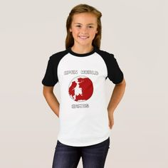 Games Girls' Short Sleeve Raglan T-Shirt