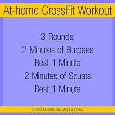 CrossFit workout with zero equipment! This one targets your lungs, your butt, and your core!