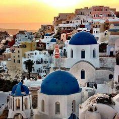 Oia, Santorini, courtesy of Becki Enright