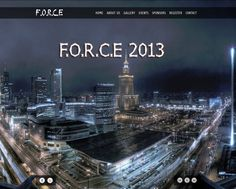 www.kkwforce.com  F.O.R.C.E 2013 The #Civil #Department of KKWIEER, Nashik organizes FORCE , A National level theme based Technical event The #Official #Site of #FORCE 2103 has been developed by #Innovations.  #Objectives: 1)FullScreen Slideshow on Homepage. 2)Descriptive Event Pages. 3)Online Registration Form. 4)Basic Links in Google.