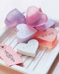 valentine's day soaps diy