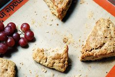 Maple and Walnut Scones -with very good tips for baking scones-