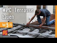 bau dir eine terrasse aus wpc dielen mit dem video tutorial der hornbach meisterschmiede. Black Bedroom Furniture Sets. Home Design Ideas